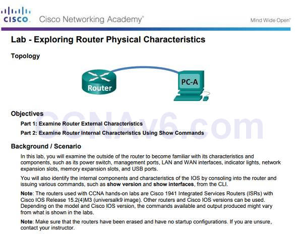 Introduction to Networks 6.0 Instructor Materials – Chapter 6: Network Layer 101