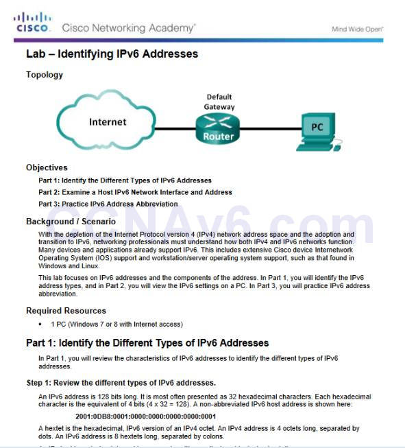 Introduction to Networks 6.0 Instructor Materials – Chapter 7: IP Addressing 69