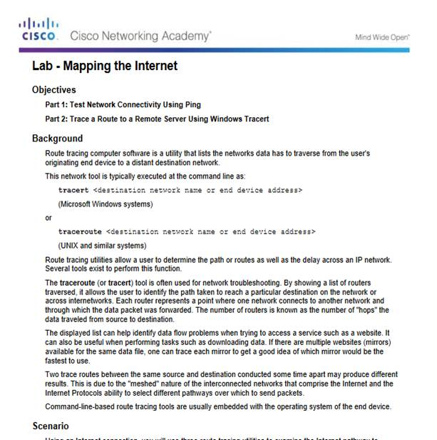 Introduction to Networks 6.0 Instructor Materials – Chapter 7: IP Addressing 81