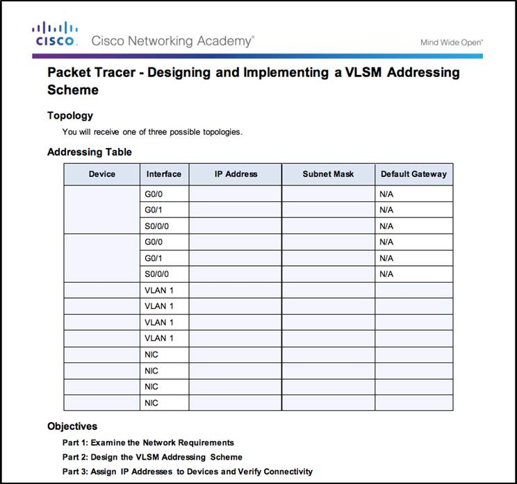 Introduction to Networks 6.0 Instructor Materials – Chapter 8: Subnetting IP Networks 157