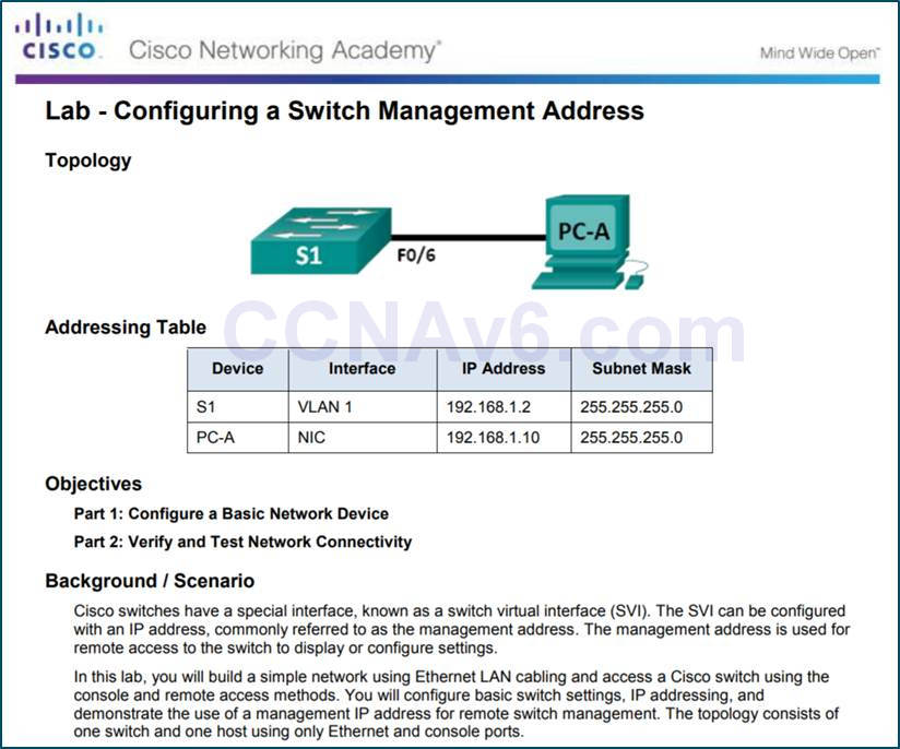 Introduction to Networks 6.0 Instructor Materials - Chapter 2: Configure a Network Operating System 85