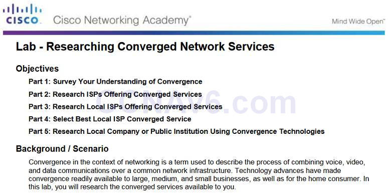 Introduction to Networks 6.0 Instructor Materials - Chapter 1: Explore the Network 90
