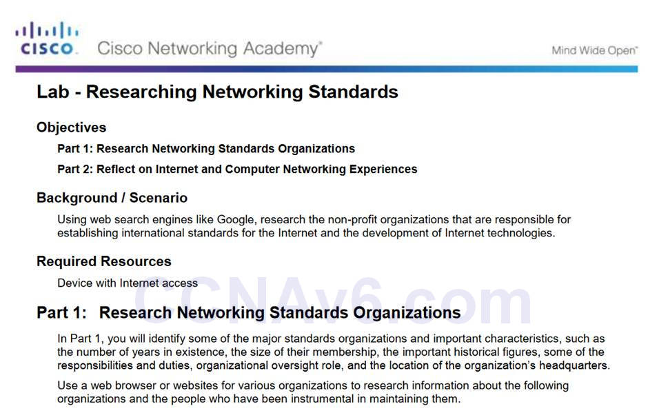 Introduction to Networks 6.0 Instructor Materials – Chapter 3: Network Protocols and Communication 63