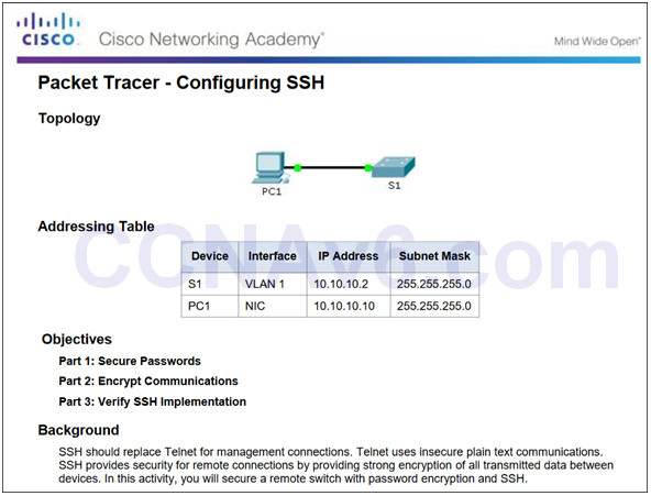 Routing and Switching Essentials 6.0 Instructor Materials – Chapter 5: Switch Configuration 63