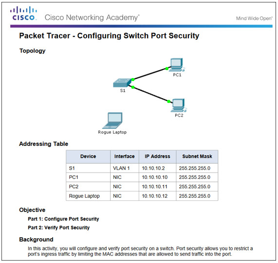 Routing and Switching Essentials 6.0 Instructor Materials – Chapter 5: Switch Configuration 75