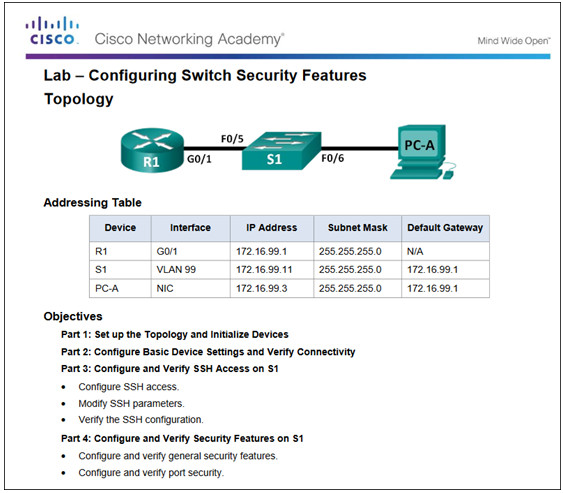Routing and Switching Essentials 6.0 Instructor Materials – Chapter 5: Switch Configuration 298