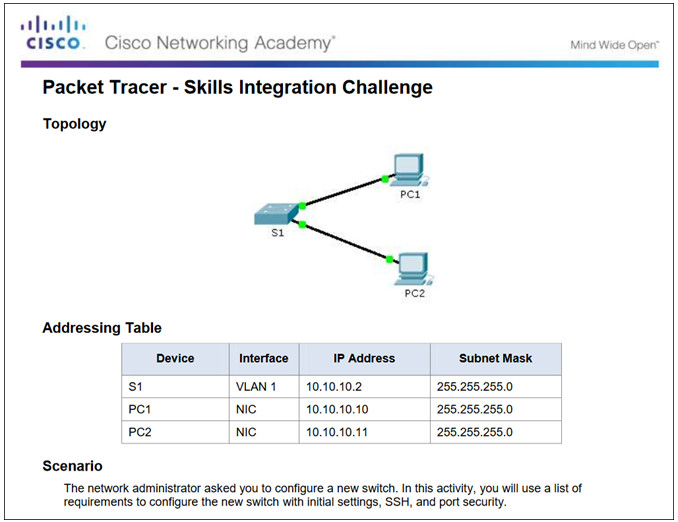 Routing and Switching Essentials 6.0 Instructor Materials – Chapter 5: Switch Configuration 78