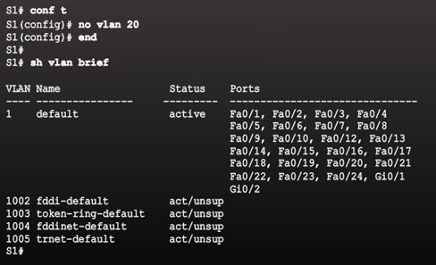Routing and Switching Essentials 6.0 Instructor Materials – Chapter 6: VLANs 88