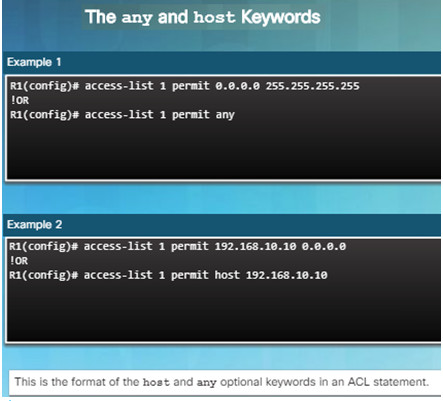 Routing and Switching Essentials 6.0 Instructor Materials – Chapter 7: Access Control Lists 56