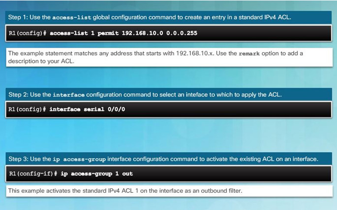 Routing and Switching Essentials 6.0 Instructor Materials – Chapter 7: Access Control Lists 62