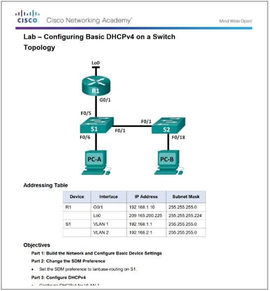 Routing And Switching Essentials 6 0 Instructor Materials
