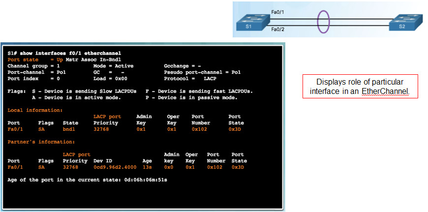 Scaling Networks v6.0 Instructor Materials – Chapter 4: EtherChannel and HSRP 57