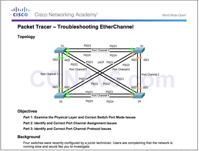 Scaling Networks v6.0 Instructor Materials – Chapter 4: EtherChannel and HSRP 62
