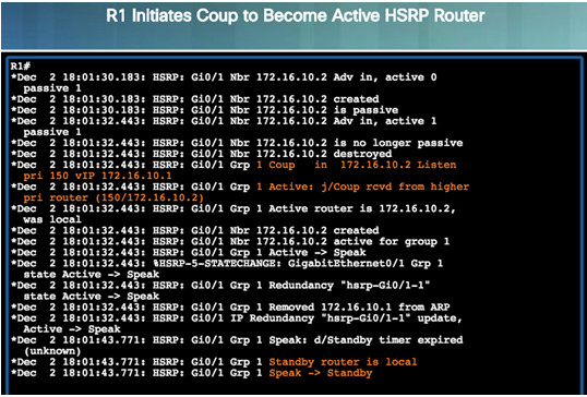 Scaling Networks v6.0 Instructor Materials – Chapter 4: EtherChannel and HSRP 81