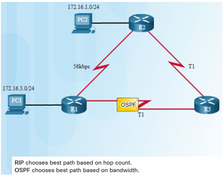 Scaling Networks v6.0 Instructor Materials – Chapter 5: Dynamic Routing 44