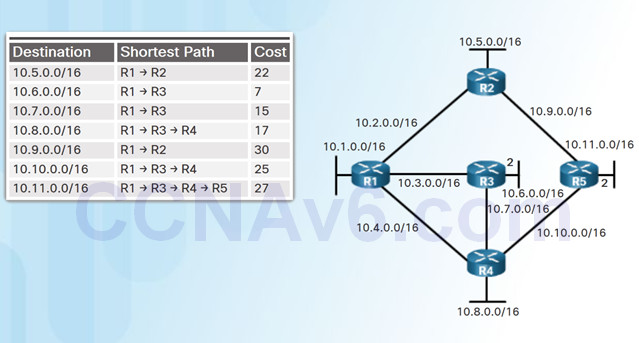 Scaling Networks v6.0 Instructor Materials – Chapter 5: Dynamic Routing 66