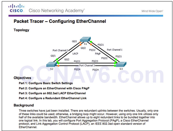 Scaling Networks v6.0 Instructor Materials – Chapter 4: EtherChannel and HSRP 53