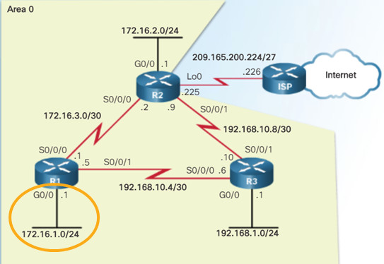 Scaling Networks v6.0 Instructor Materials – Chapter 8: Single-Area OSPF 121