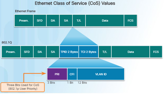 Connecting Networks v6.0 – Chapter 6: Quality of Service 61