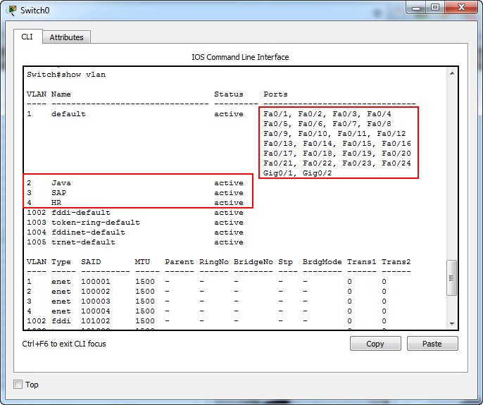 Cisco Packet Tracer for Beginners - Static VLAN on a Cisco switch 2