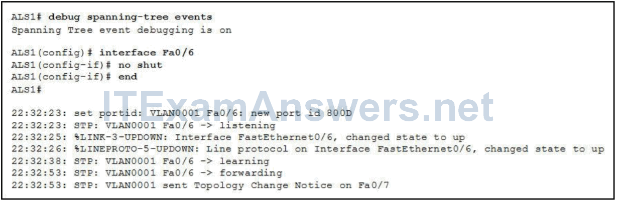 CCNP SWITCH Chapter 4 Exam Answers (Version 7) - Score 100% 2