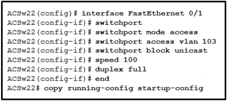 CCNP SWITCH Chapter 10 Test Online (Version 7) – Score 100% 1