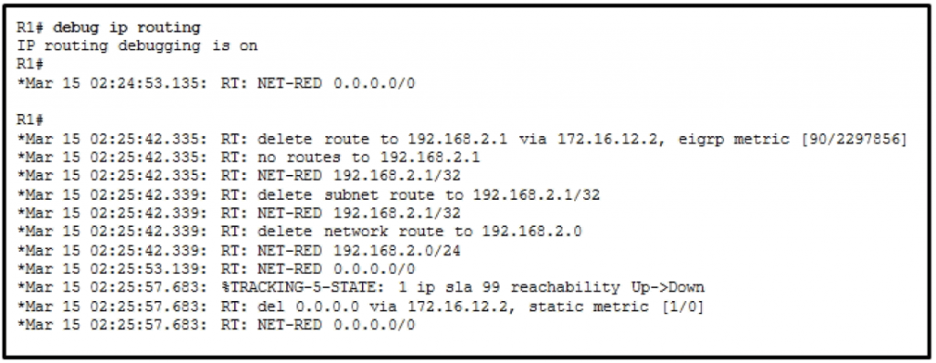 CCNP ROUTE Chapter 5 Test Online (Version 7) – Score 100% 2