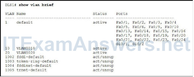 CCNP SWITCH Chapter 3 Exam Answers (Version 7) - Score 100% 5