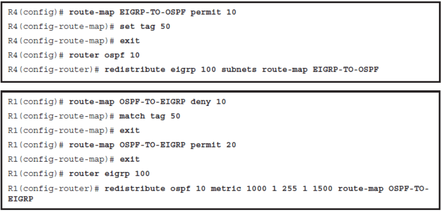CCNP ROUTE (Version 7) – Chapter 4: Manipulating Routing Updates 106