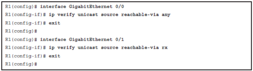 CCNP ROUTE (Version 7) – Chapter 8: Routers and Routing Protocol Hardening 62