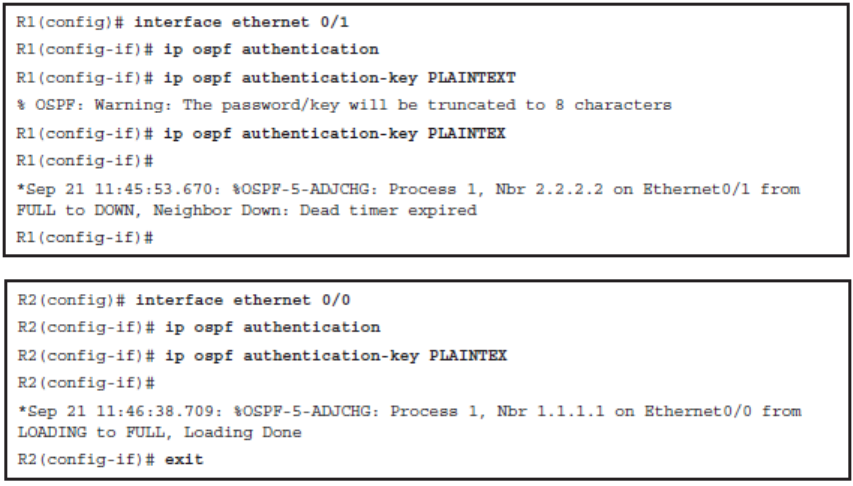 CCNP ROUTE (Version 7) – Chapter 8: Routers and Routing Protocol Hardening 81