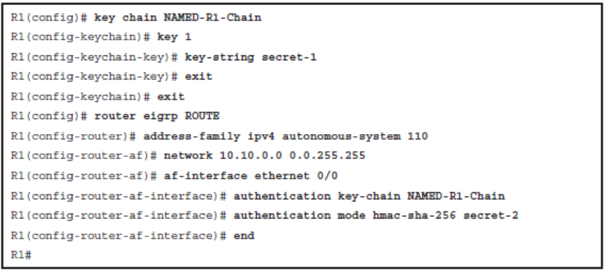 CCNP ROUTE (Version 7) – Chapter 8: Routers and Routing Protocol Hardening 91