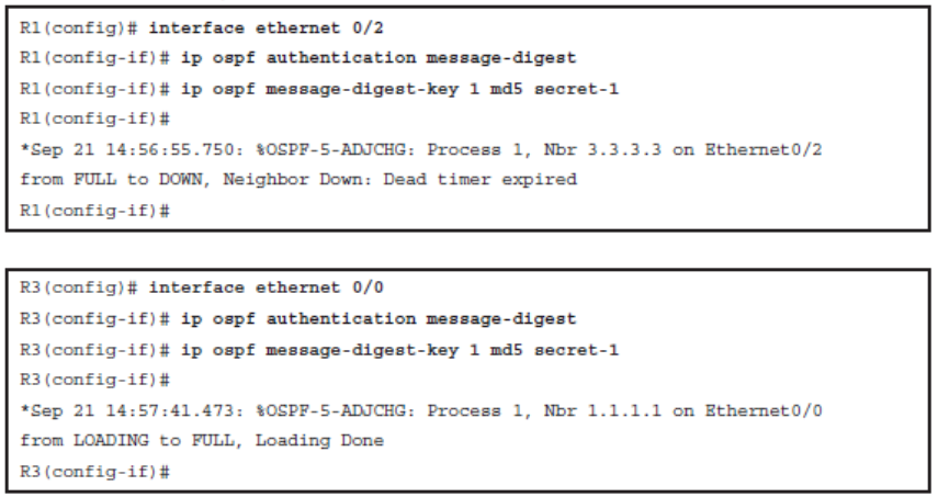 CCNP ROUTE (Version 7) – Chapter 8: Routers and Routing Protocol Hardening 93
