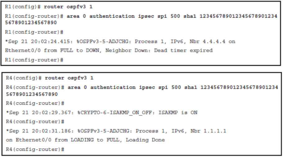 CCNP ROUTE (Version 7) – Chapter 8: Routers and Routing Protocol Hardening 98