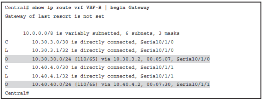 CCNP ROUTE (Version 7) – Chapter 8: Routers and Routing Protocol Hardening 107