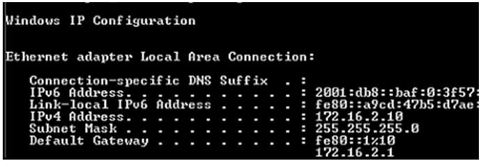 Refer to the exhibit. What is the global IPv6 address of the host in uncompressed format? 2
