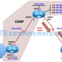 CCNP ROUTE Chapter 2 Lab 2-2, EIGRP Stub Routing (Version 7) 17