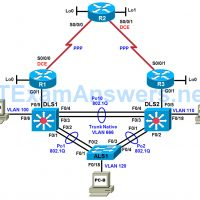 CCNP TSHOOT Chapter 8 Lab 8-1, EIGRP Blues (Version 7) 16