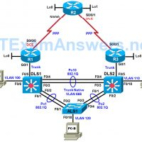 CCNP TSHOOT Chapter 9 Lab 9-2, In Synch (Version 7) 6