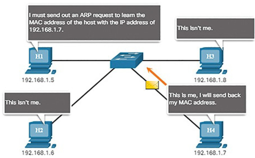 CCNA Cyber Ops (Version 1.1) – Chapter 4: Network Protocols and Services 226