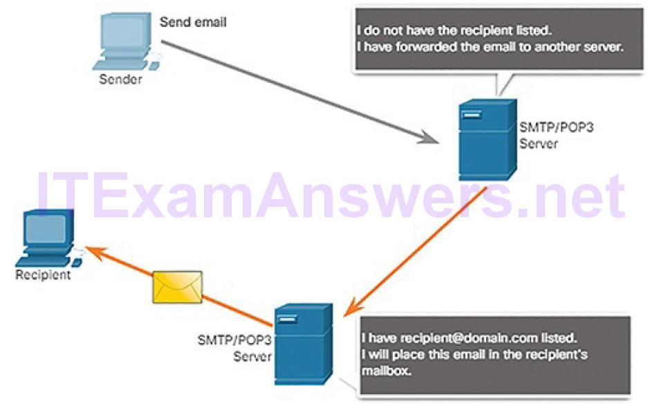 CCNA Cyber Ops (Version 1.1) – Chapter 4: Network Protocols and Services 281