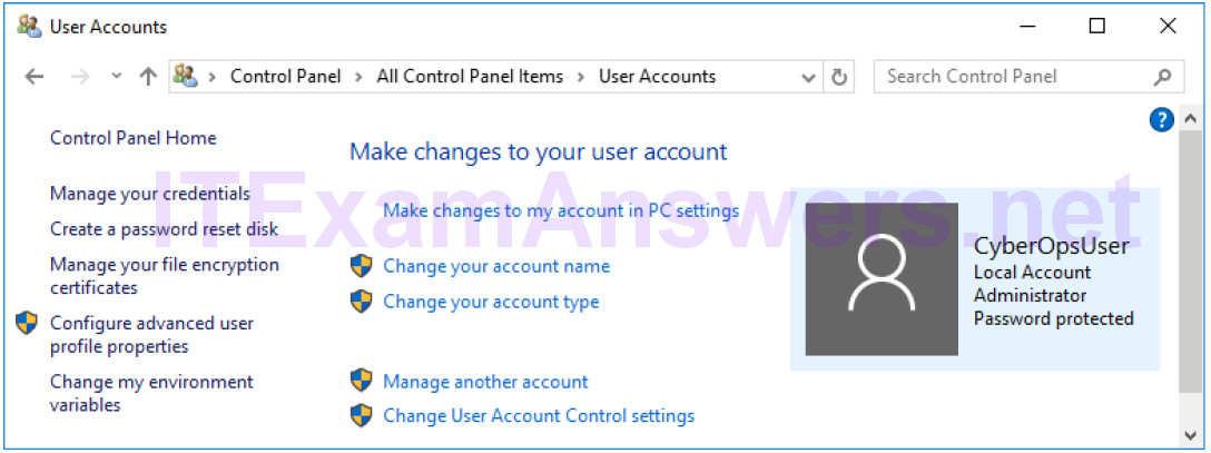 2.2.1.10 Lab – Create User Accounts (Instructor Version) 2