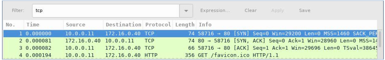 4.5.2.4 Lab – Using Wireshark to Observe the TCP 3-Way Handshake (Instructor Version) 2