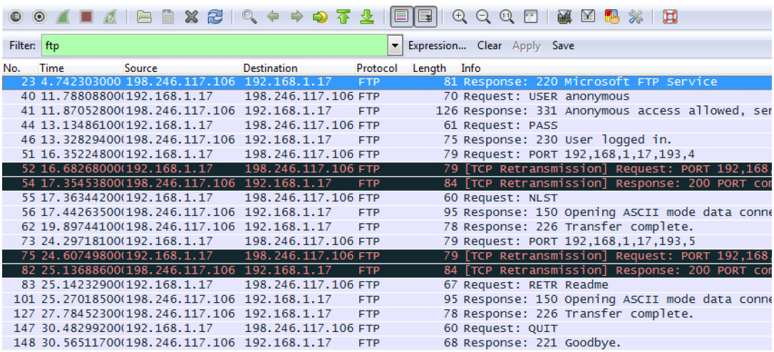 4.6.4.3 Lab – Using Wireshark to Examine TCP and UDP Captures (Instructor Version) 11