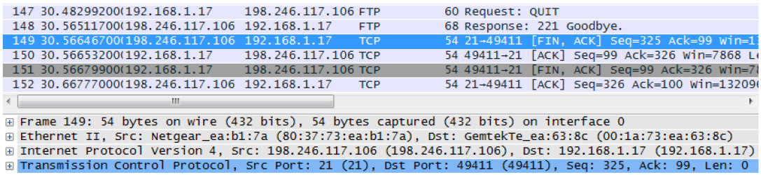 4.6.4.3 Lab – Using Wireshark to Examine TCP and UDP Captures (Instructor Version) 12