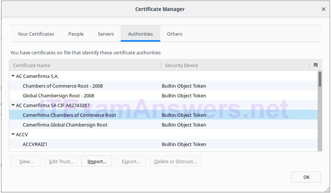 9.2.2.7 Lab – Certificate Authority Stores (Instructor Version) 4