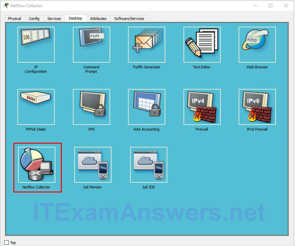 11.2.3.10 Packet Tracer – Explore a NetFlow Implementation 2