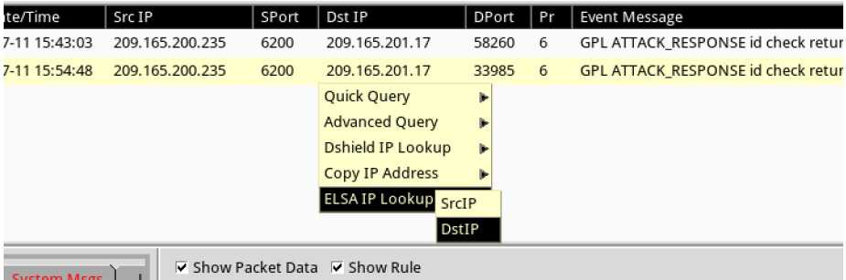 12.4.1.2 Lab – Isolate Compromised Host Using 5-Tuple (Instructor Version) 10