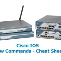 Cisco IOS Show Commands in Switch and Router - Cheat Sheet 8