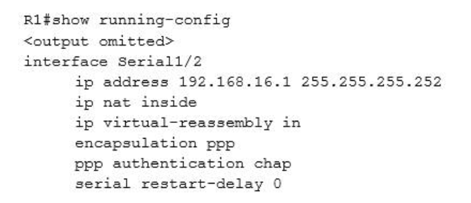 Refer to the topology below and answer the following question. Why has the Branch3 router lost connectivity with R1? Use only show commands to troubleshoot because usage of the debug command is restricted on the Branch3 and R1 routers? 4